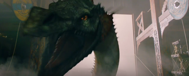 doctor who series 9 trailer dragon