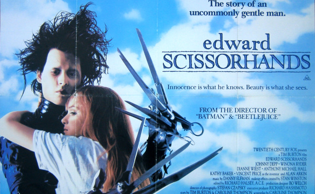 The Simple Message of 1990's EDWARD SCISSORHANDS
