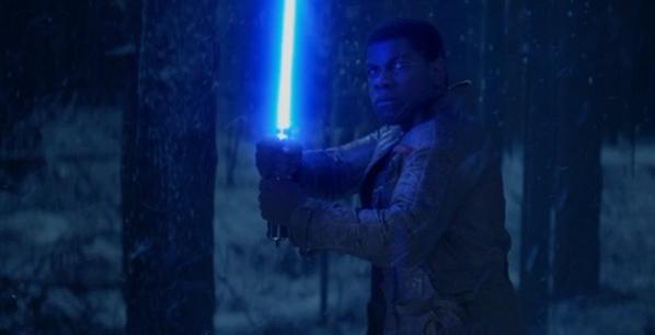 Finn Wields a Lightsaber in STAR WARS: THE FORCE AWAKENS Teaser!!
