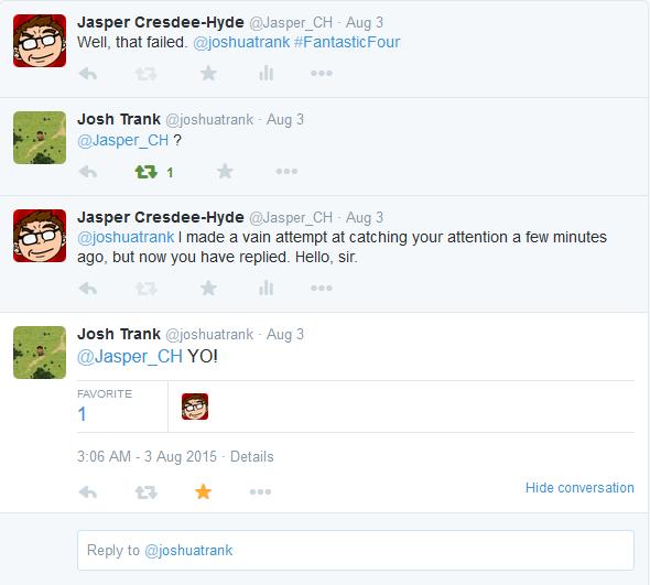 josh trank other tweets