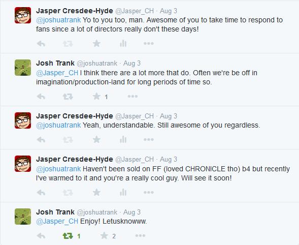 josh trank tweets
