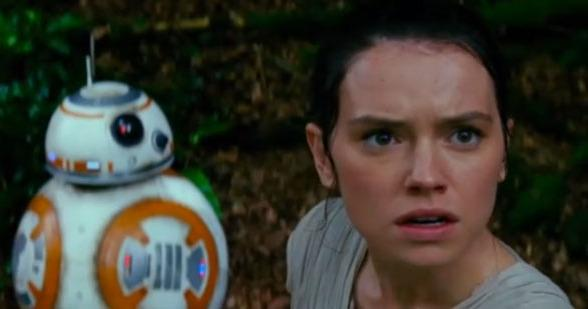 rey bb-8 star wars the force awakens