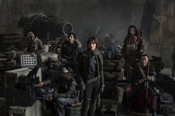 star wars rogue one official cast photo