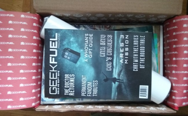 UNBOXING GEEK FUEL SEPTEMBER 2015