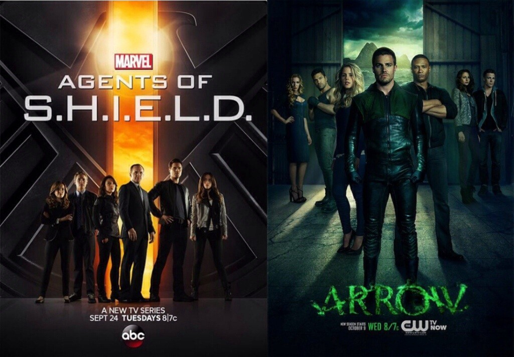 arrow agents of shield banner