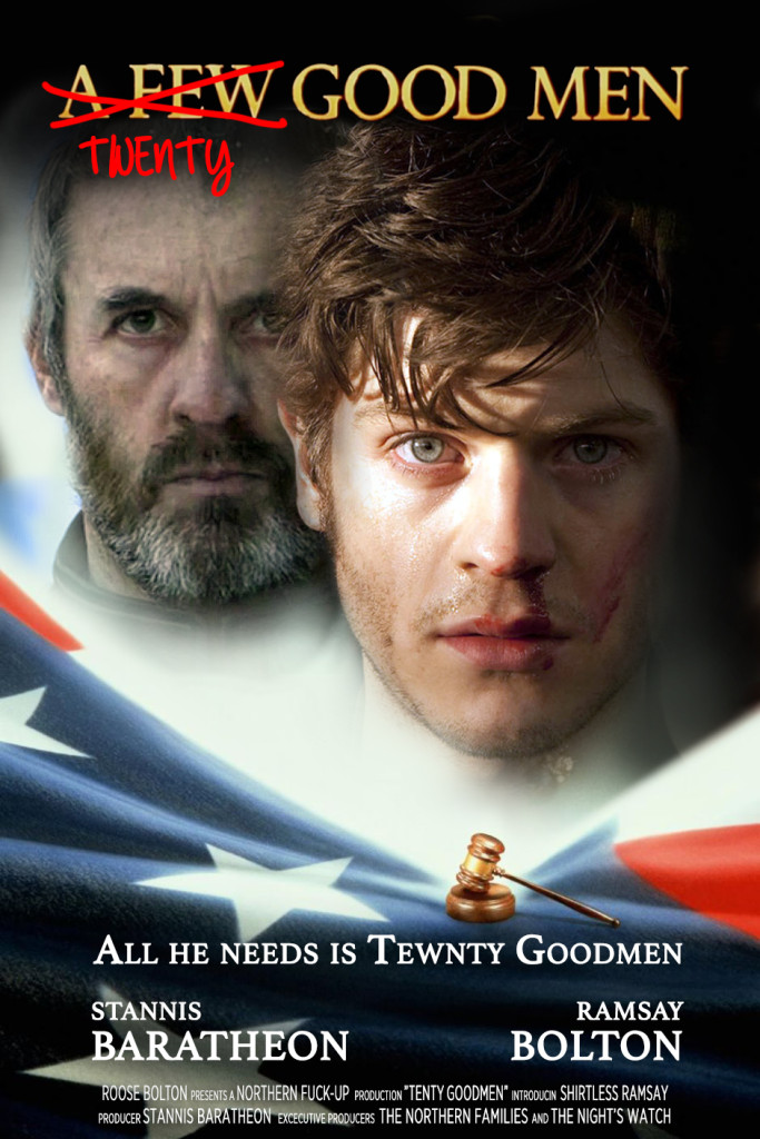 game of thrones a few good men ramsay stannis