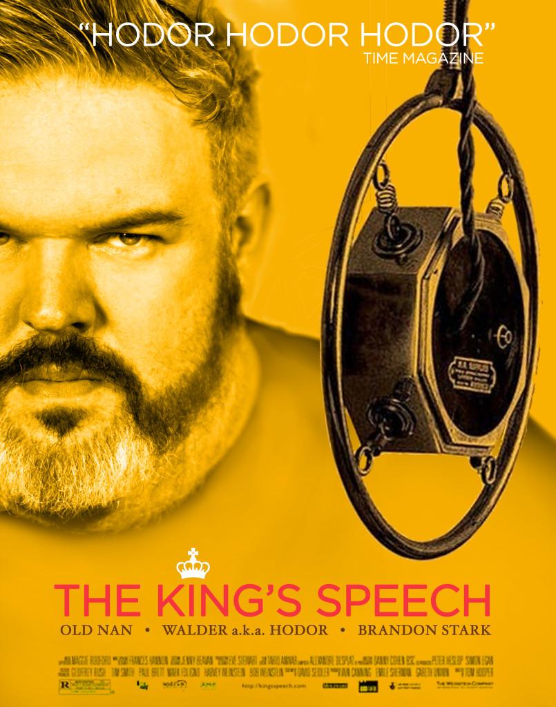 game of thrones the king's speech hodor