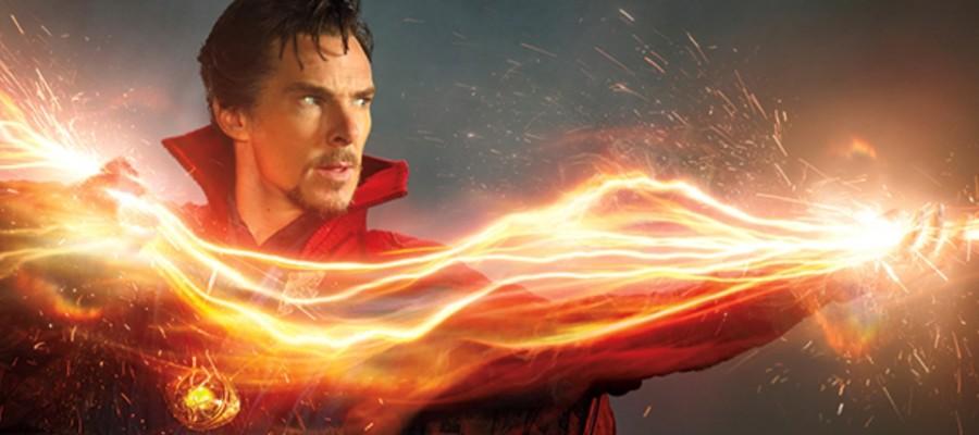 Benedict Cumberbatch Dr Strange banner