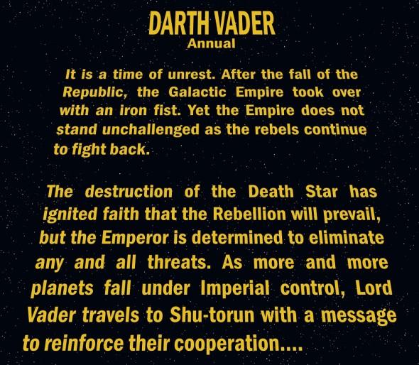 Darth Vader Annual #1 2