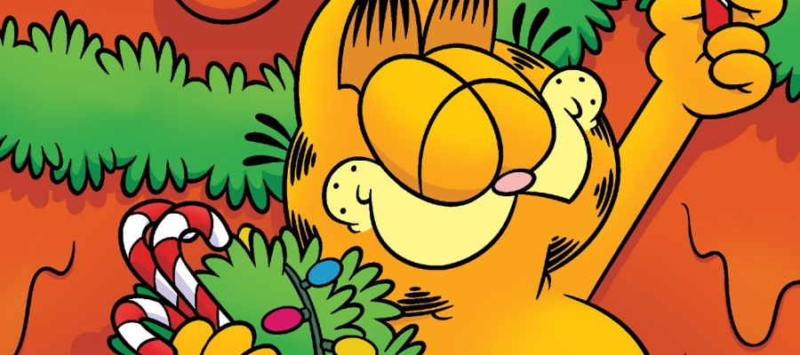 Garfield's Cheesy Holiday Special Review banner