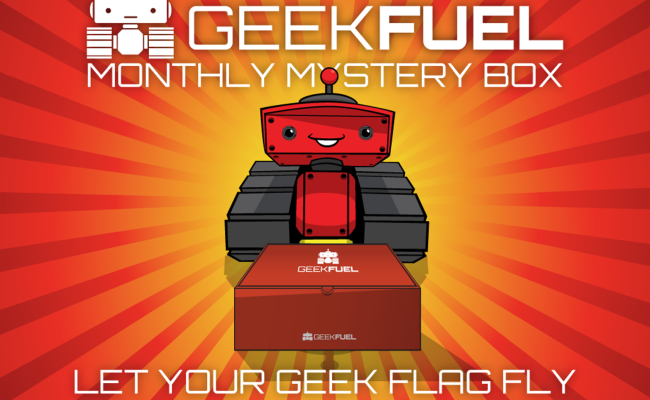 GEEK FUEL NOVEMBER 2015 UNBOXING