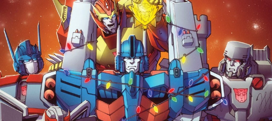Transformers Holiday Special Review banner