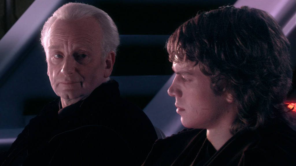 anakin emperor palpatine revenge of the sith