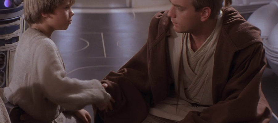 obi-wan meets anakin phantom menace