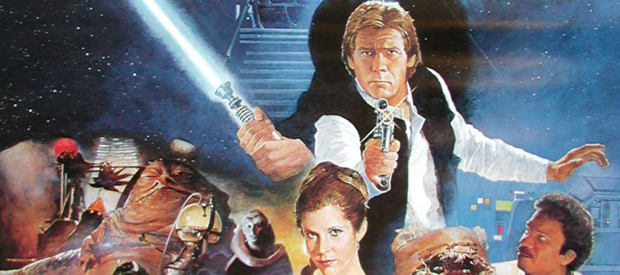return of the jedi poster star wars
