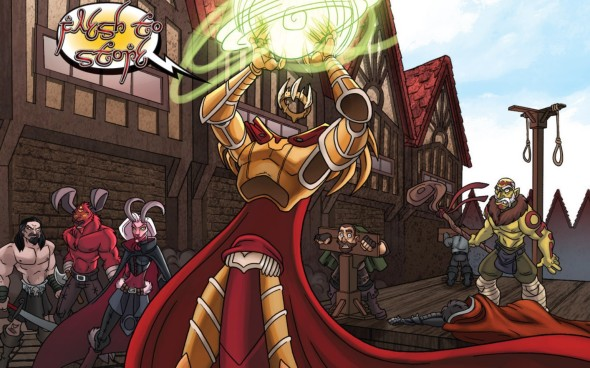 I, Mage #2 Review 5
