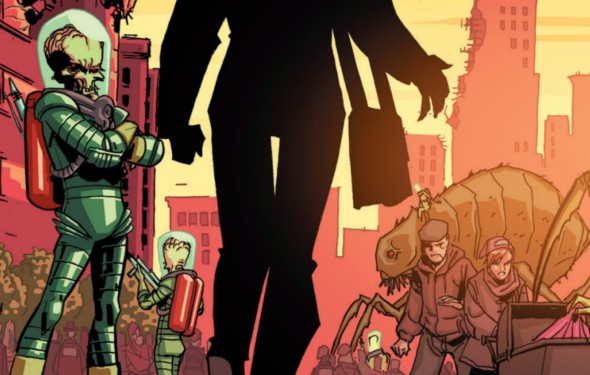 Mars Attacks Occupation #1 Review 1