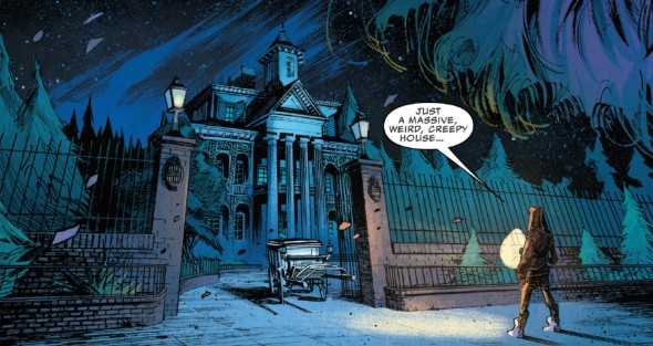 The Haunted Mansion #1 Review 2