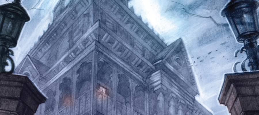 The Haunted Mansion #1 Review banner