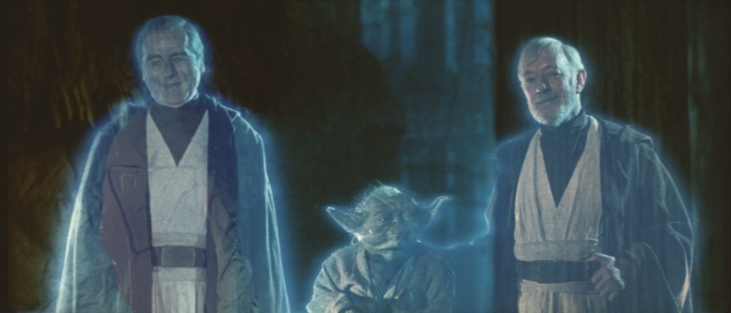 star wars return of the jedi force ghosts