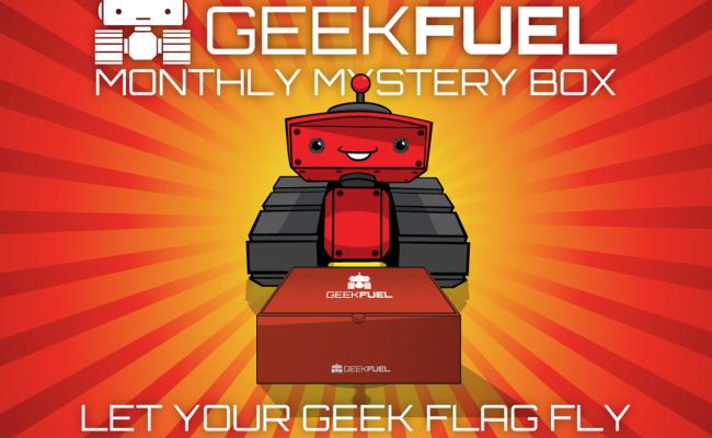 Geek Fuel April 2016 Review