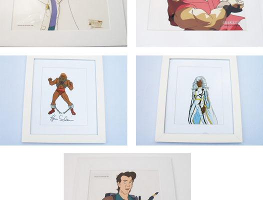 FANBOY HOLIDAY: HAND PAINTED CELLS FROM YOUR FAVOURITE CARTOONS!