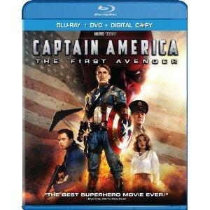 FREEBIE FRIDAY: Captain America Blu-Ray