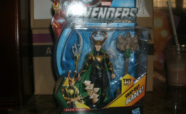 Sneak Peek at The Avengers Toys