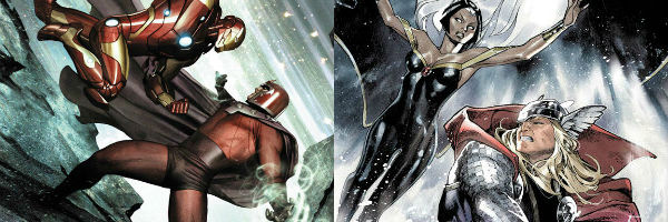 Thor vs Storm, Iron Man vs Magneto. Marvel, WTF?