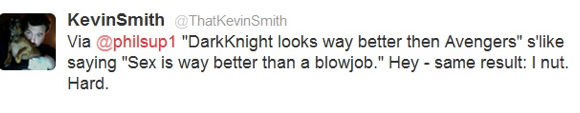 Kevin Smith Reveals His Opinion on The Dark Knight Rises vs The Avengers Feud