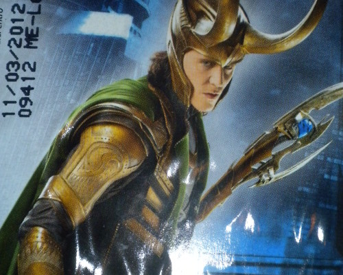 New Look At Tom Hiddleston As Loki In The Avengers