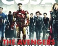 The Avengers Grace The Cover Of La Cosa Cine