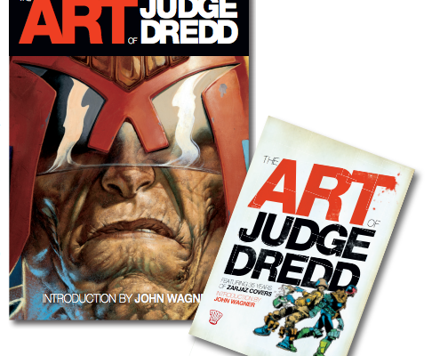 Celebrate Judge Dredd's 35th Anniversary with Awesome Artbook