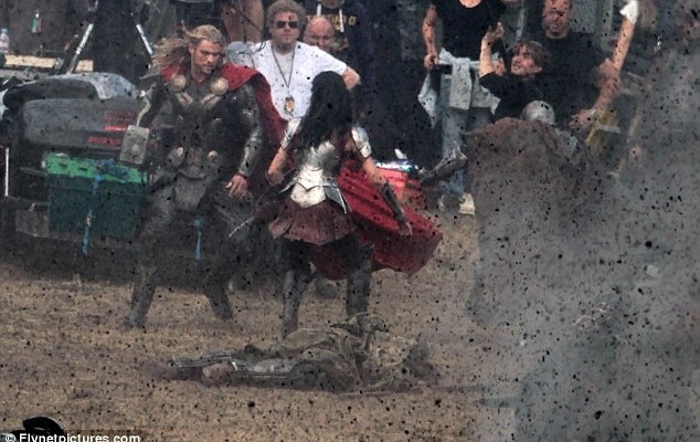 Leaked Video of Battle Sequence From THOR THE DARK WORLD