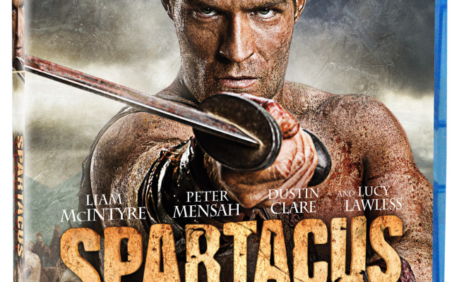 Spartacus Vengeance out now on DVD and BluRay