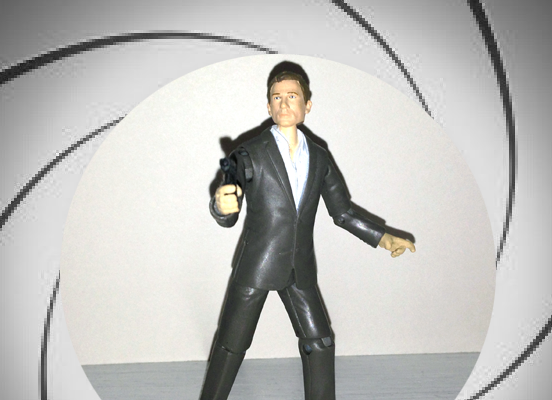 Make Your Own James Bond Action Figure