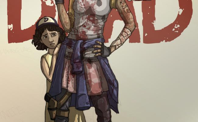 Fan Art: The Walking Dead's Clementine is all grown up