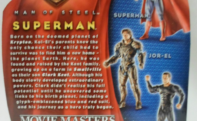 MAN OF STEEL Spoilers Featured On Toy Packaging