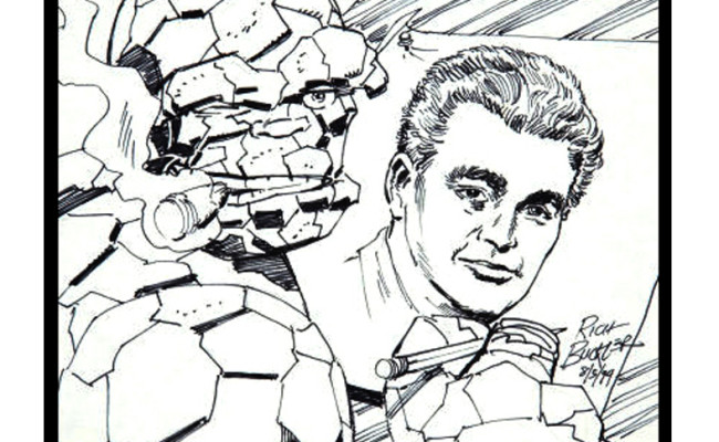 With Great Chutzpah Comes Great Responsibility: IS THE THING REALLY JACK KIRBY?