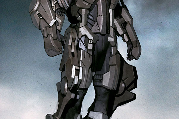 Concept Art For Unused IRON MAN Armour From THE AVENGERS Surfaces