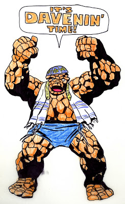 With Great Chutzpah Comes Great Responsibility: JACK KIRBY & THE THING- 2 NICE JEWISH BOYS