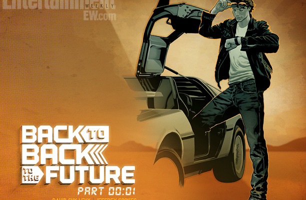 5 Chances to Win a Copy of BACK TO BACK TO THE FUTURE Comic