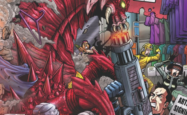GODZILLA: Rulers of Earth #3 Review
