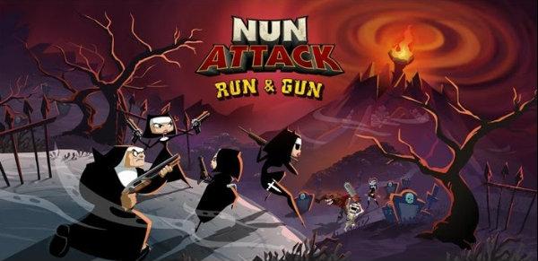 Nun Attack: Run and Gun iOS Review