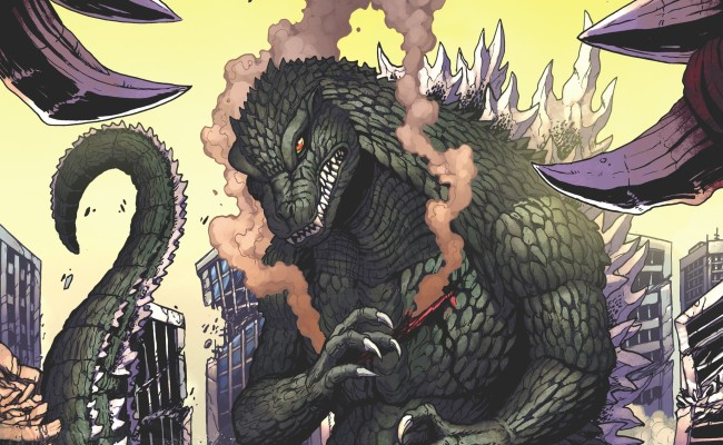 GODZILLA: Rulers of Earth #4 Review