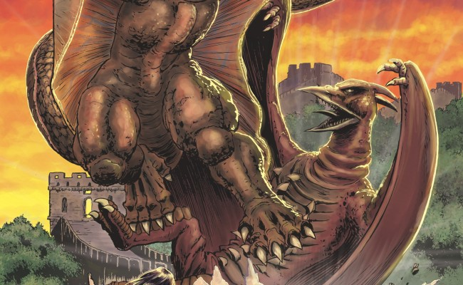 GODZILLA: Rulers of Earth #5 Review
