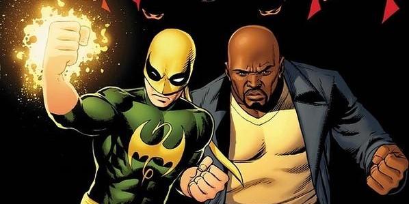 Daredevil, Iron Fist, Luke Cage, Jessica Jones, and The Defenders