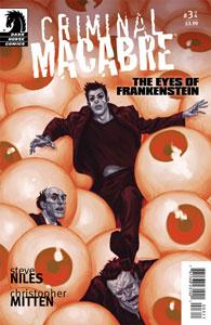 Criminal Macabre Eyes Of Frankenstein #3 Review