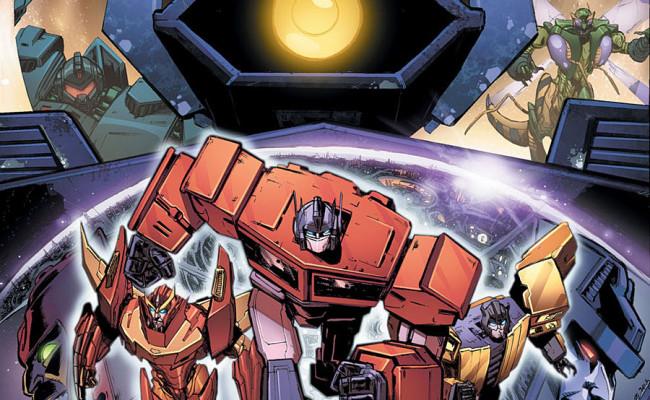 Transformers: Dark Cybertron #1 Review