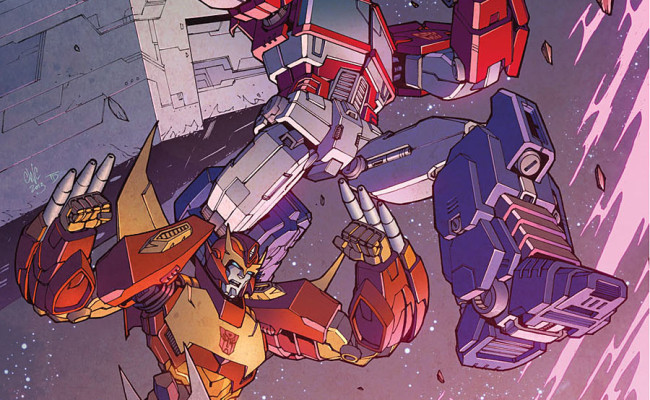 Transformers: More Than Meets The Eye #23 Review